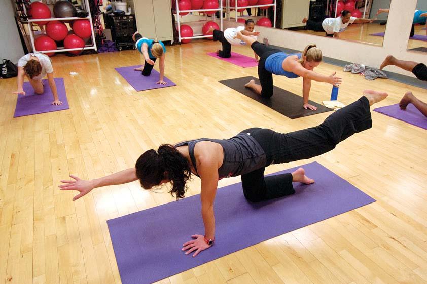 Abierta la inscripción a pilates, yoga, gravity e hipopresivos