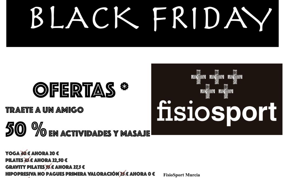 Black Friday en Fisio Sport Murcia
