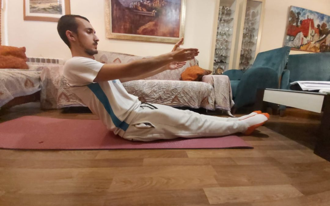 Pilates: PROGRESIÓN ROLL UP